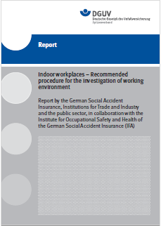 Report Indoor workplaces DGUV 2016