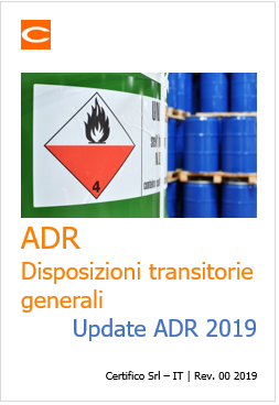 ADR Disposizioni transitorie
