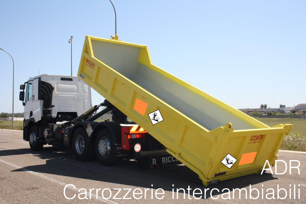 Carrozzerie intercambibili ADR