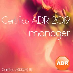 Certifico ADR 2019