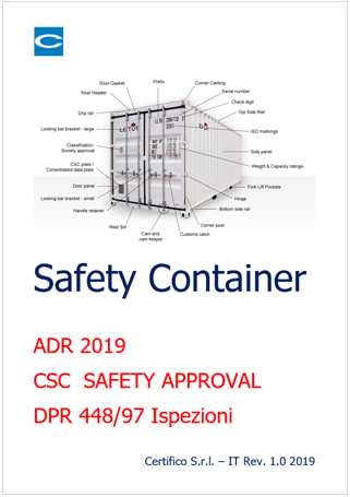 Cover safety container 2019