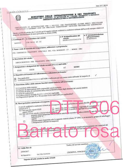 DTT 306 Barrato rosa