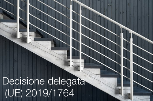 Decisione delegata UE 20191764