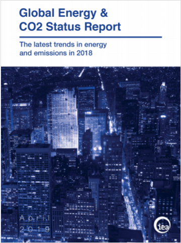 Global Energy   CO2 Stutus Report IEA 2018