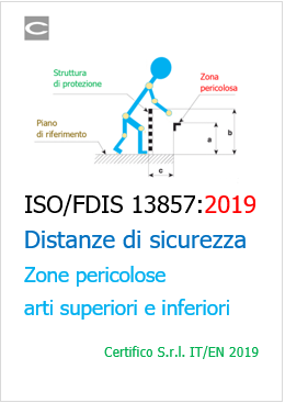 ISO FDIS 13857 2019 Distanze di sicurezza