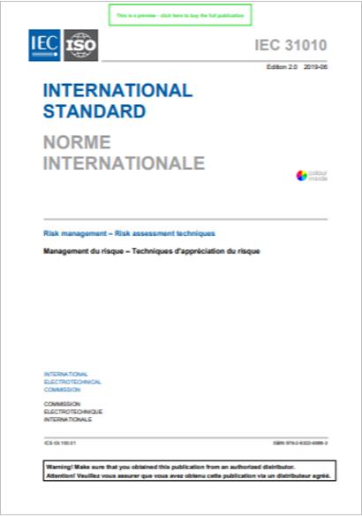 IEC 31010 Ed  2 0 2019 - Certifico Srl