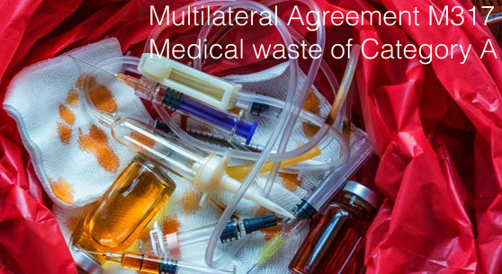 M317 Medical waste of Category A