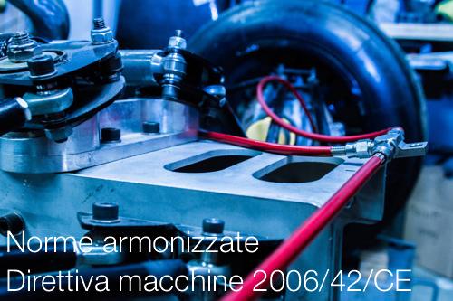 Norme armonizzate direttiva macchine ce dm certifico srl