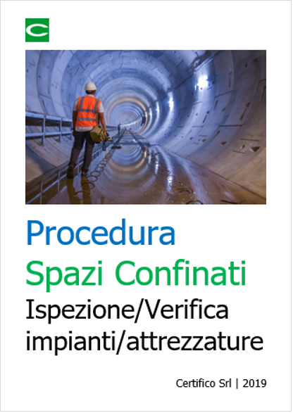 Procedura Spazi Confinati