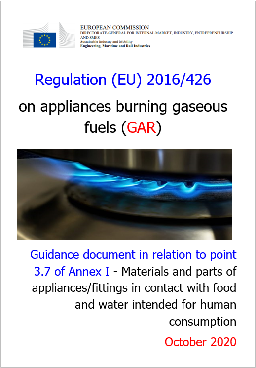 Regulation EU 2016 426 Guidance point 3 7 of Annex I GAR