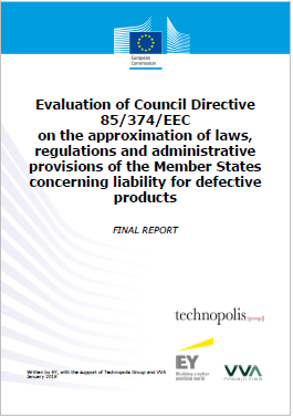 Evaluation of Council Directive 85 374 ECC Difective products
