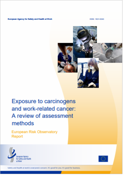 Exposur to carcinogens and work related cancer   A review of assessment methods EU OSHA 2014