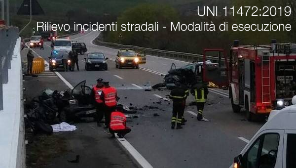 UNI 11472 2019 Rilievo incidenti stradali