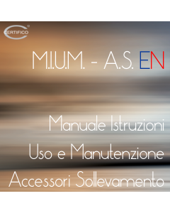 MIUMAS Accessori Sollevamento EN Version