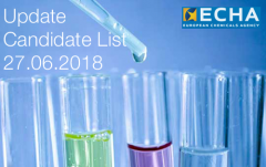 ECHA Candidate list June 2018
