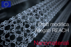 Nanomateriali draft modifica REACH