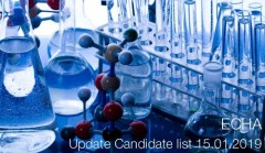 ECHA Update Candidate list 15 01 2019