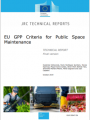EU GPP criteria public space maintenance
