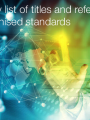 Summary list of titles and references of harmonised standards