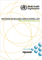 WHO report on the global tobacco epidemic 2019