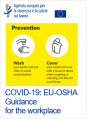 COVID 19 EU OSHA guidance for the workplace