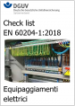 Check list EN 60204 1 Testing of the electrical equipment of machines Ed  2020 IFA