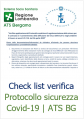 Check sicurezza COVID 19 ATS BG
