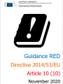 Guidance RED 11 2020