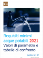 Requisiti minimi acque potabili 2021   Tabelle di raffronto