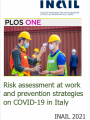Risk assessment at work and prevention strategies on COVID 19 in Italy
