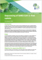 Sequencing of SARS CoV 2